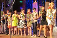 Медалісти на сцені